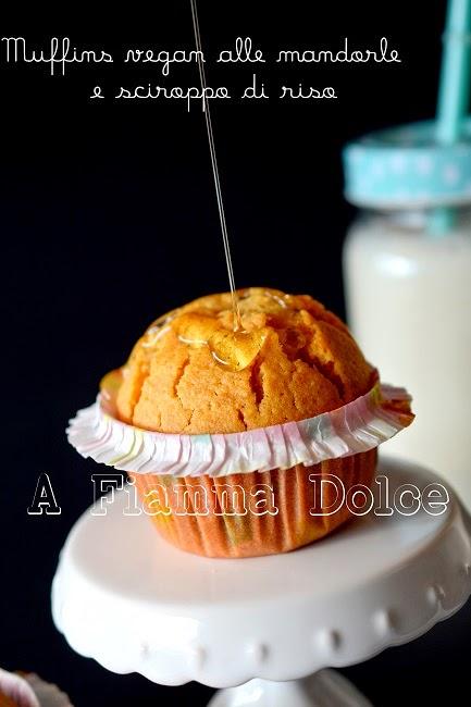 muffin vegan alle mandorle