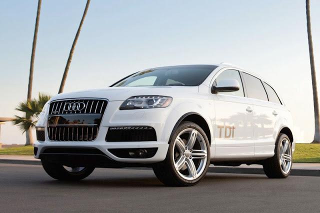 2012 Audi Q7 Suv White Wallpaper