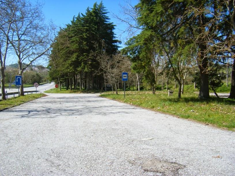 Entrada do Parque de lazer de Montemor