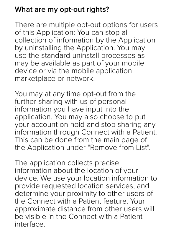 mobile app privacy policy template