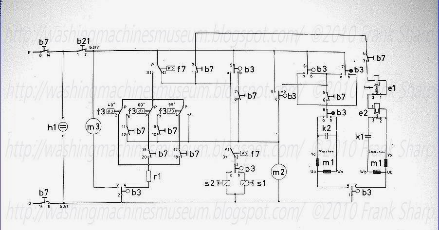 washer rama museum   aeg novamat we schematic diagram