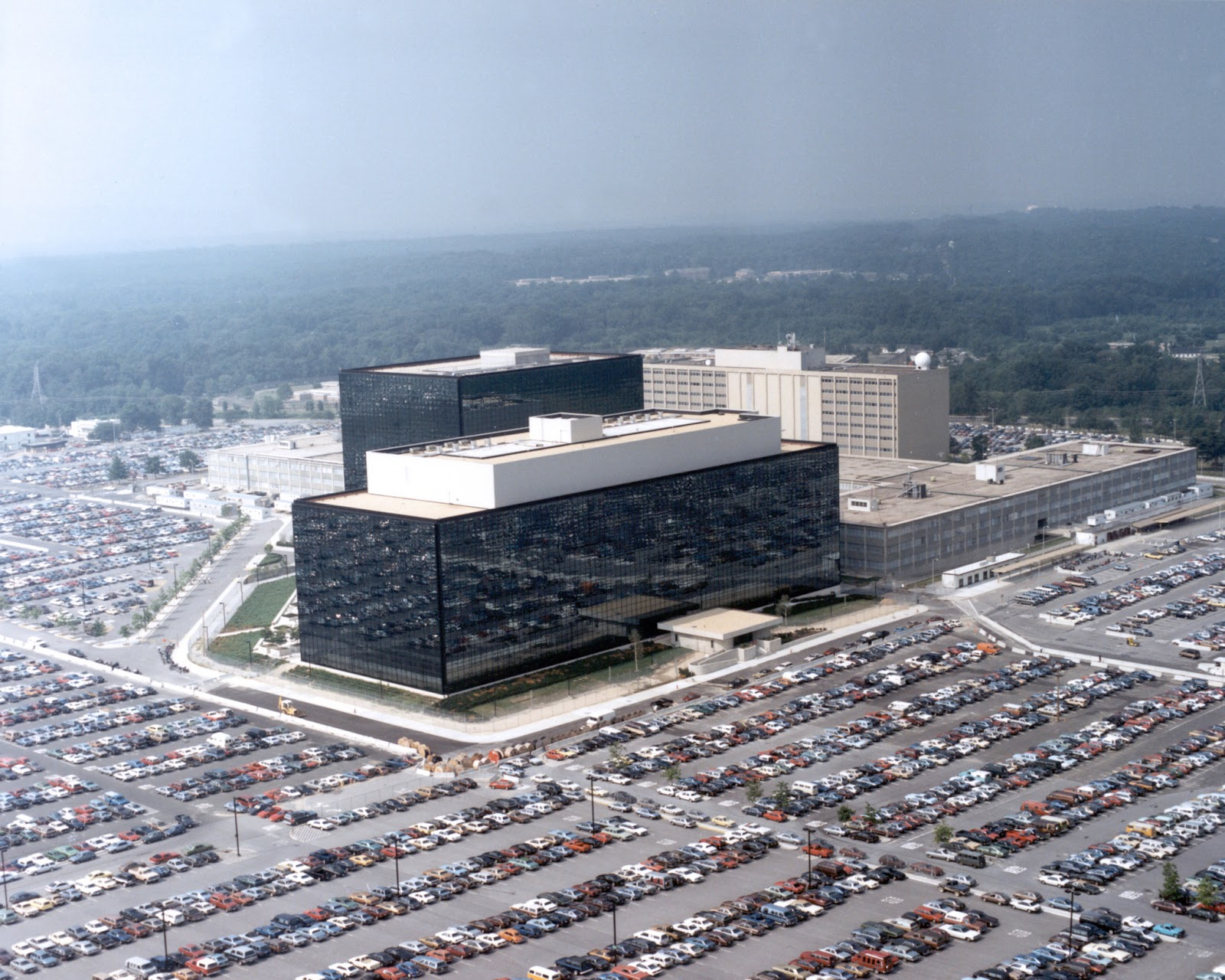 The U.S. government in the boot of the NSA