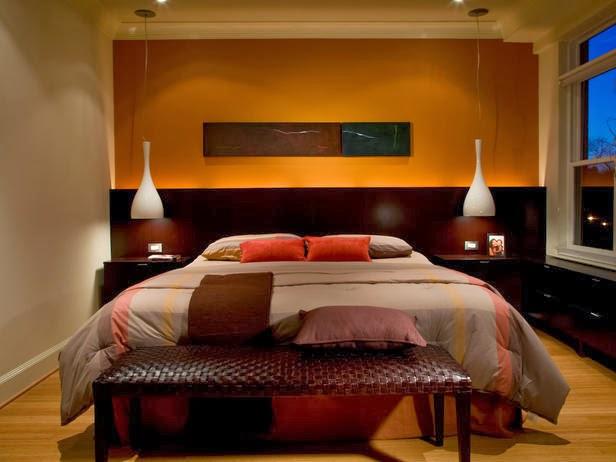 Decoraci n y afinidades de qu color pintar las paredes del dormitorio - Paredes pintadas de dos colores ...