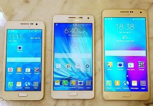 Spesifikasi Samsung Galaxy A series