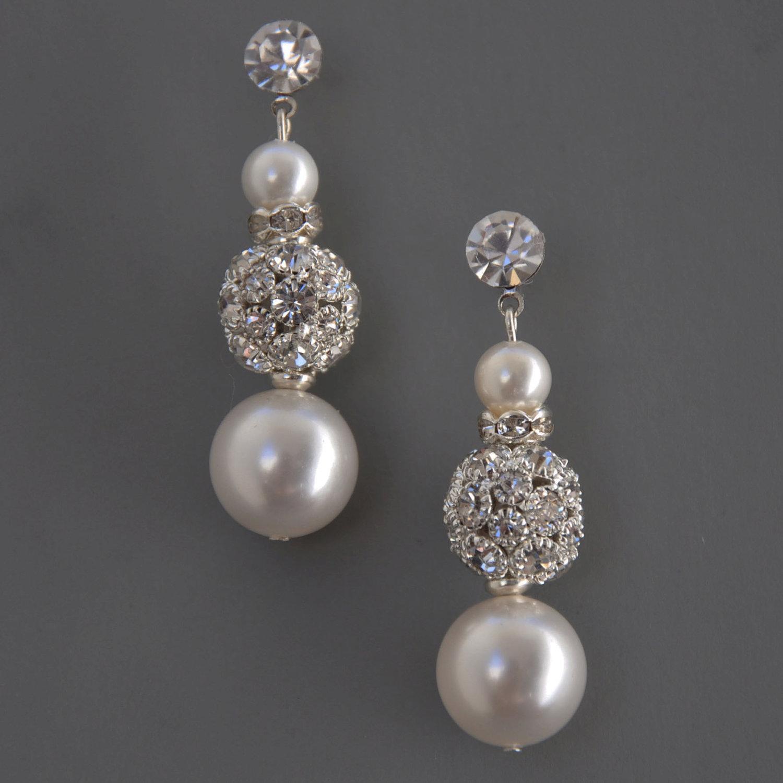 SHE FASHION CLUB: Bridal Earrings etsy