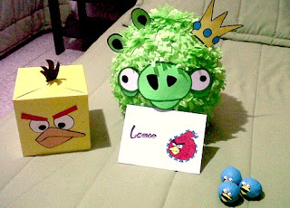Piñatas de Angry Birds Recicladas, Ideas Eco para Cumpleaños