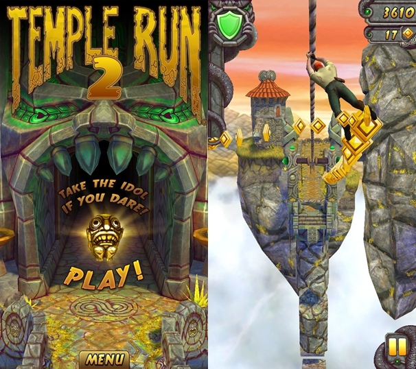Temple run 2 for ARM v6 Android devices