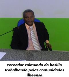 Vereador Raimundo do Basilio