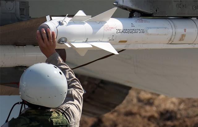 Força Aérea da Rússia na Síria reduziu a intensidade das missões de combate
