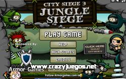 Jugar City Siege 3: Jungle Siege