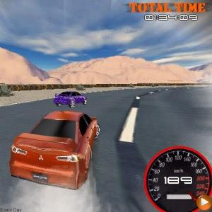لعبة سباق الطريق السريع