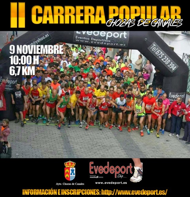 II Carrera Popular de Chozas de Canales