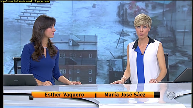 Esther Vaquero y Maria Jose Saez