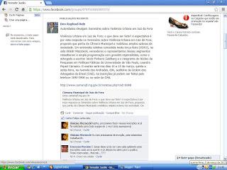 SEMINARIO DE VIOLENCIA URBANA JUIZ DE FORA