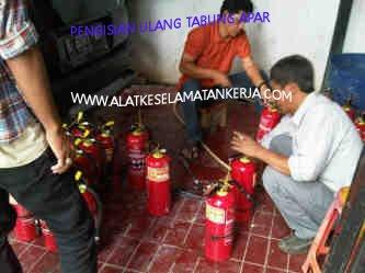 Jasa Refilling Tabung Pemadam Kebakaran