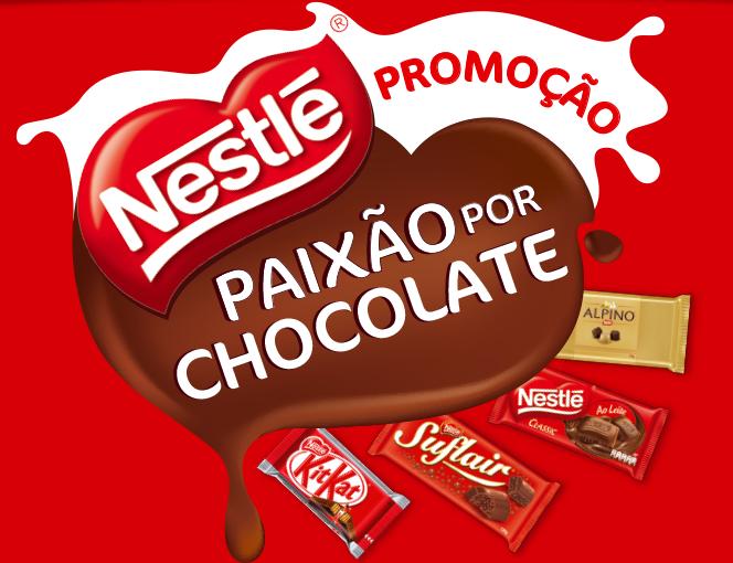 Participar promoção Paixão Por Chocolate Nestlé 2014