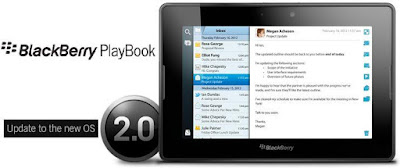 Update BlackBerry PlayBook OS 2.0 Terbaru