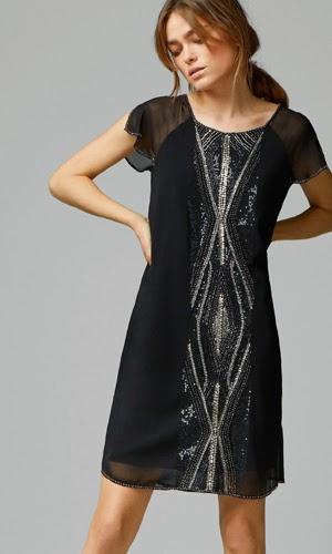 Looks de fiesta para brillar en Nochevieja vestido Massimo Dutti
