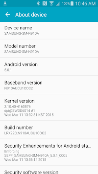 Samsung Galaxy Note 4 for AT&T receives Android 5.0 Lollipop (3)