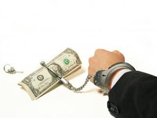 φιλαργυρία χρήμα δούλος χειροπέδες