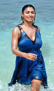Malavika Hot Cleavage Boobs Show Pics