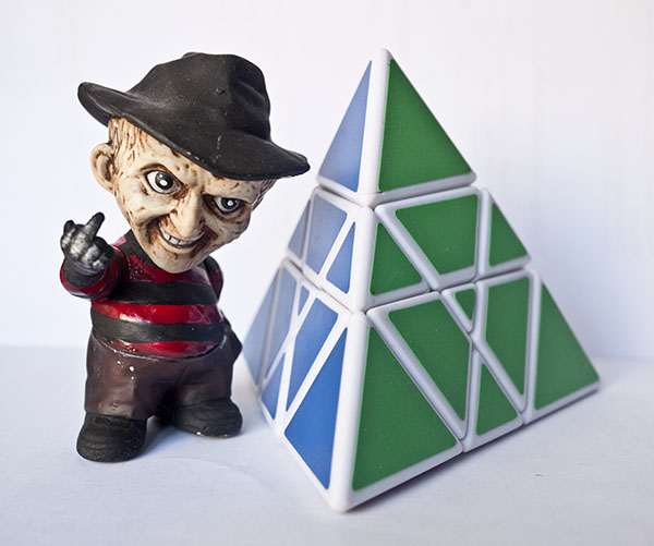 Mastermorphix Rubik freddy krueger
