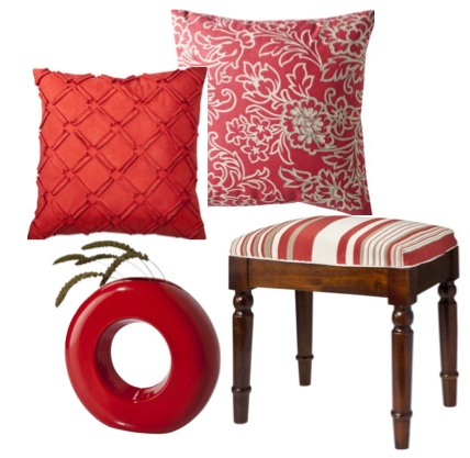 Colorful home accessories on sale driven by decor Red home decor target