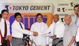 Tokyo Cement sponsors the All Island Schools Quiz Programme