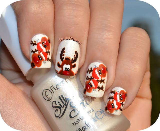 Nail Art Rudolph