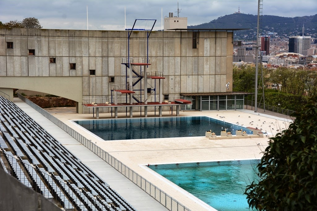 Olymic Parc Barcelona diving stadium