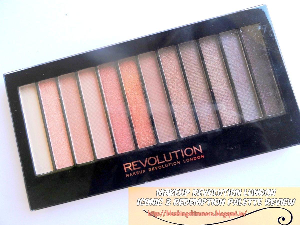 Makeup revolution london iconic 3 palette