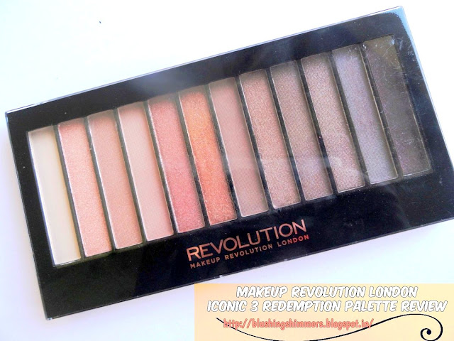 Makeup revolution london iconic 3 palette
