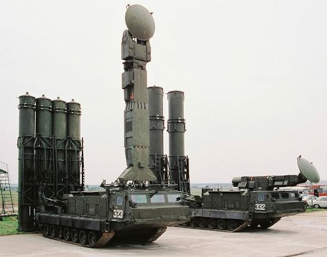Rudal S-300VM dengan daya jangkau maksimal 200 km