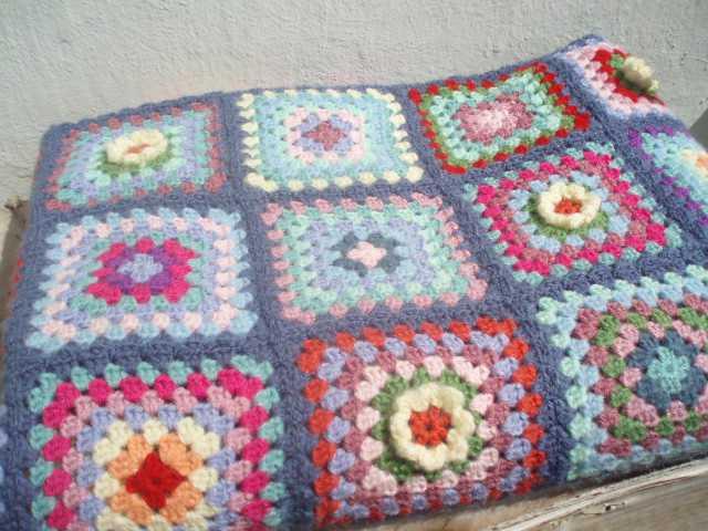 La ventana azul 54 Todas mis mantas a crochet