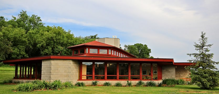 Frank Lloyd Wright's Only Public School