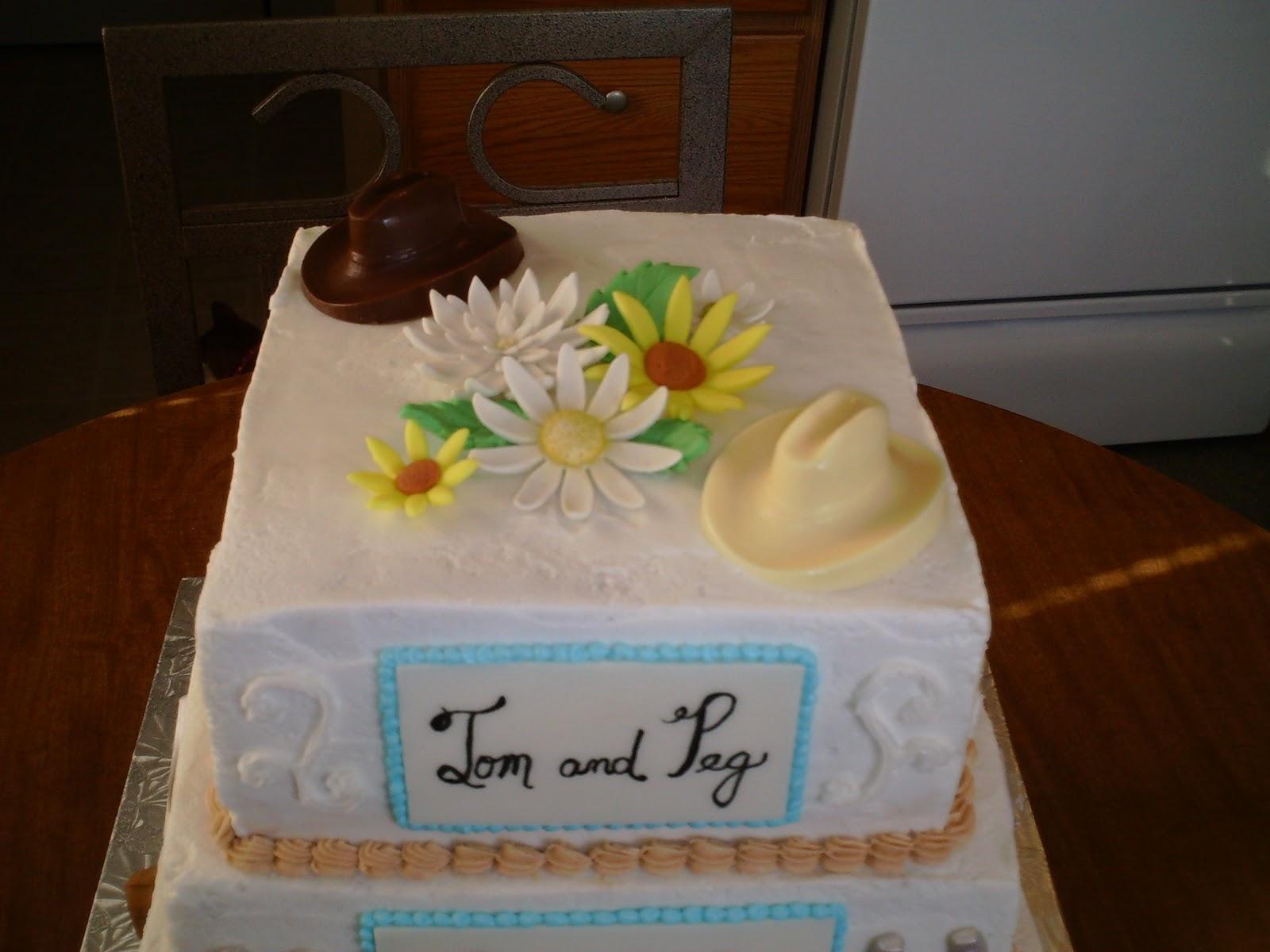 Art-n-Cake: Western Theme Wedding Cake