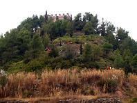 Enfilant el Castell de Balsareny