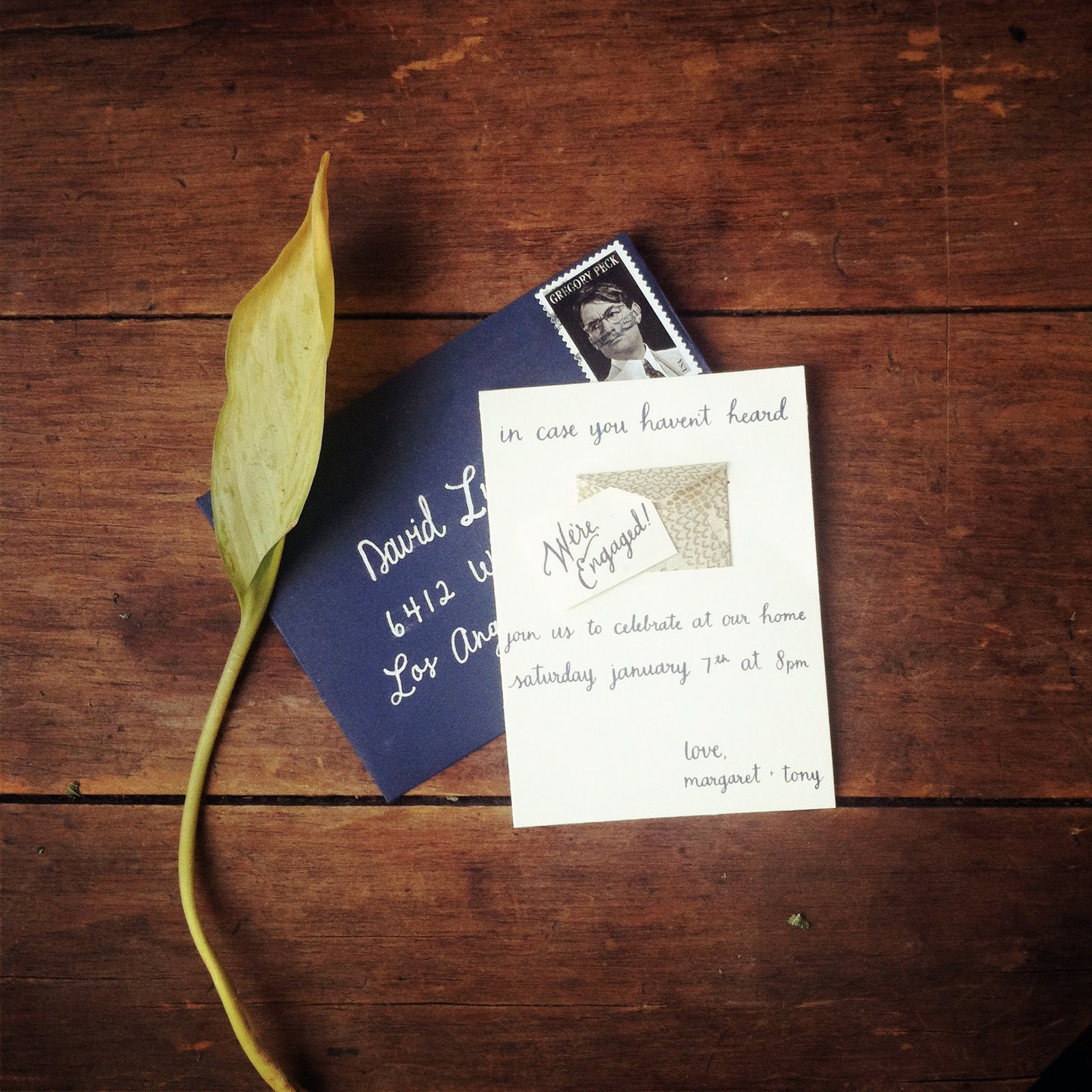 paper pastries: Wedding talk No. 2 (engagement party invitations)