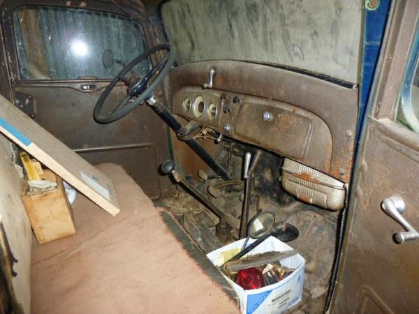 Restoration Project Cars: Barn finds 1937 Chevy Flatbed ...