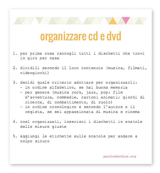 paroladordine-organizzare-cd-dvd