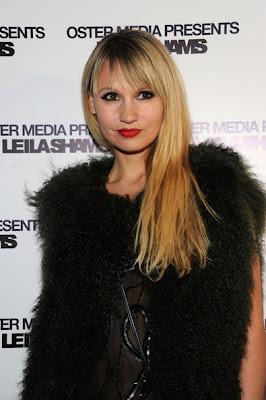 Camilla Romestrand Haircut 2012