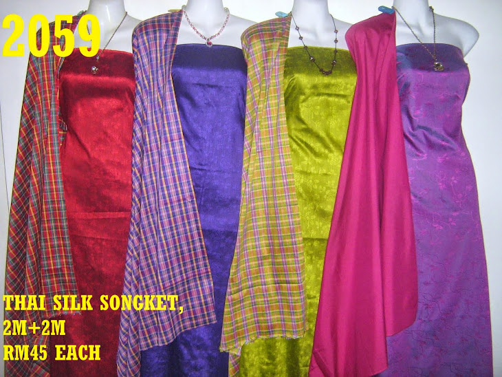 2059: THAI SILK SONGKET, 2M+2M, MATERIAL COTTON