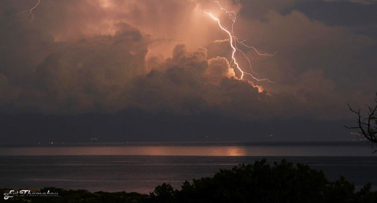 Lighting over Crete