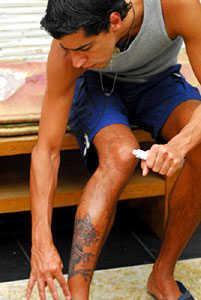 pomada tatuagem