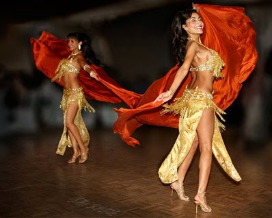 For belly dancer there should be no fat in your body.