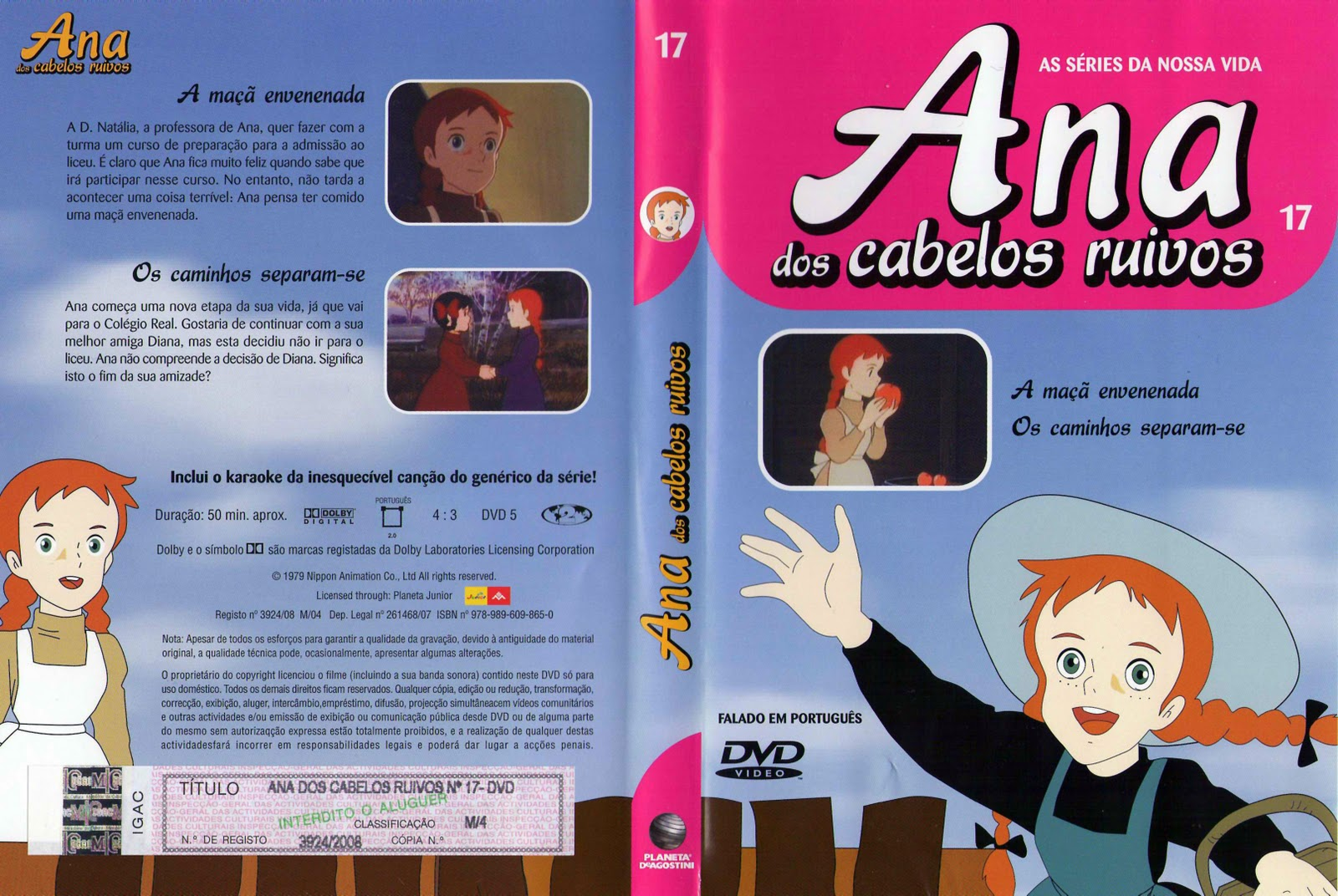 Ana dos Cabelos Ruivos Vol.1 A 25  PT-PT Ana+dos+Cabelos+Ruivos+-+Vol.17-capa