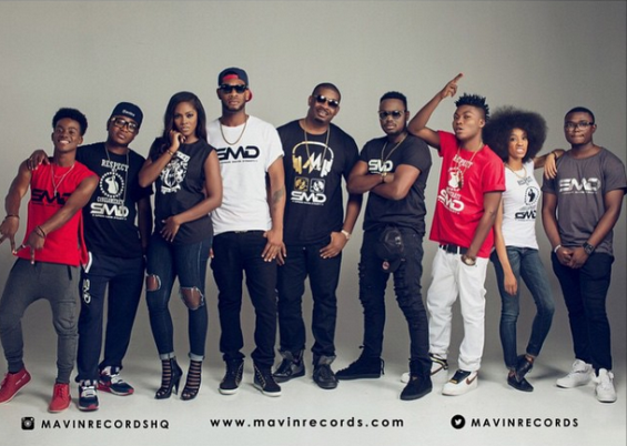 [Photos] The Mavin Crew Artistes Show Their Swag!