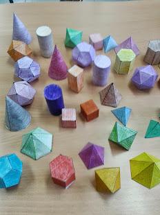Construimos cuerpos geométricos