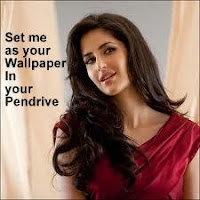 Katrina Kaif as Background Image in Pendrive