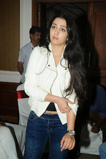 Actress Charmi Kaur Pictures in Jeans at One by Two Movie Celetes 20 Years Event  0130
